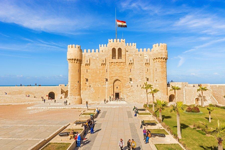 Citadel Of Qaitbay Fortress, Alexandria, Egypt