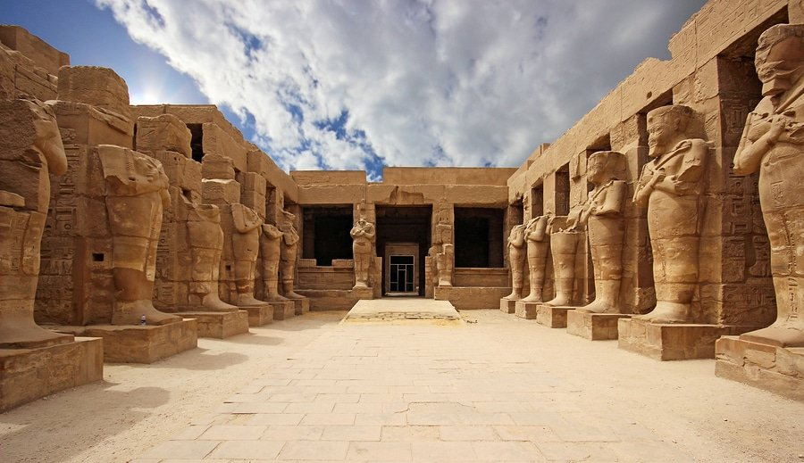 Temple of Karnak in Luxor, Egypt