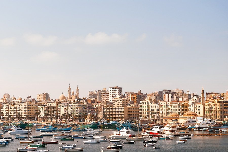 Panorama view of Alexandria