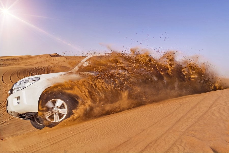 Dune bashing in the deserts of Dubai is becoming more and more popular among tourists in Dubai