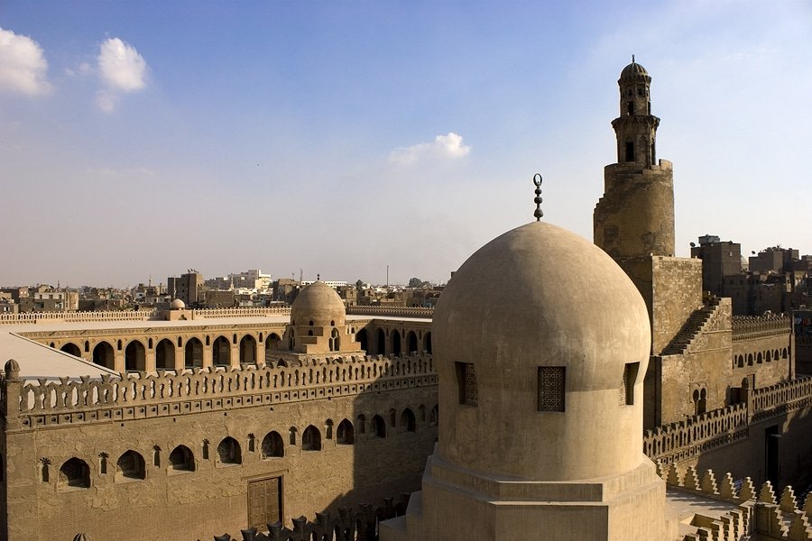 The Mosque of Ahmad Ibn Tulun, Cairo