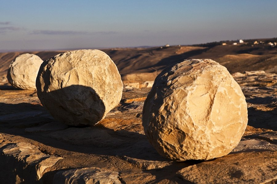 cannonballs, Shobak Castle, Jordan