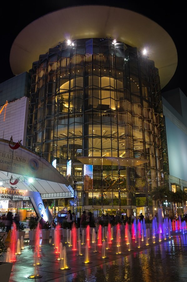 Siam Paragon is one of the largest malls in Asia