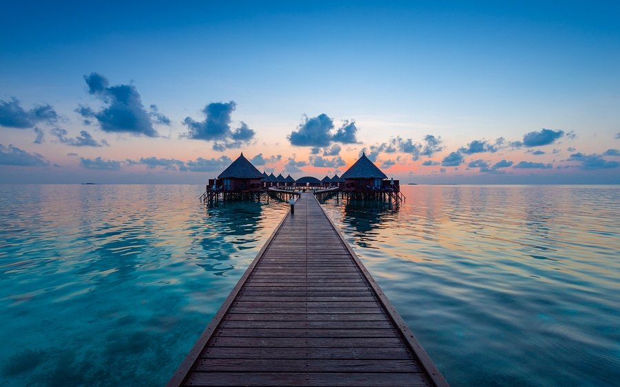 A three day escape to the Maldives