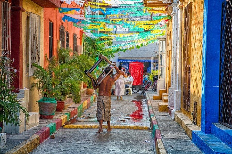 Getsemani District, Cartagena, Colombia