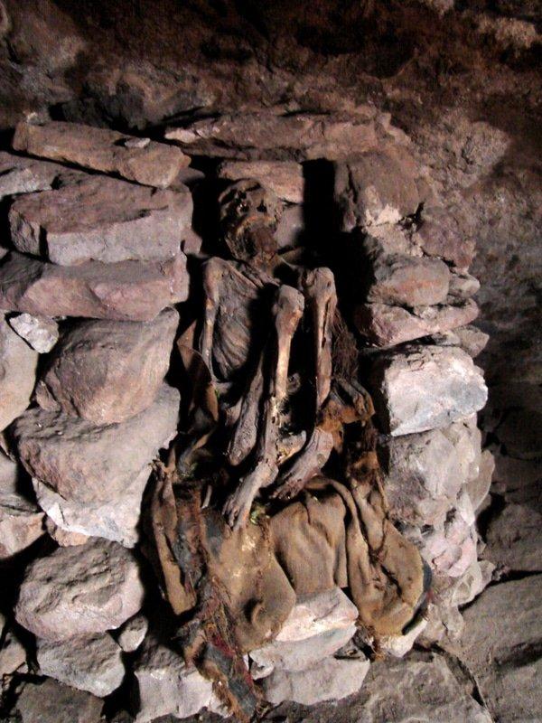 Mummy caves, Salar De Uyuni, Bolivia