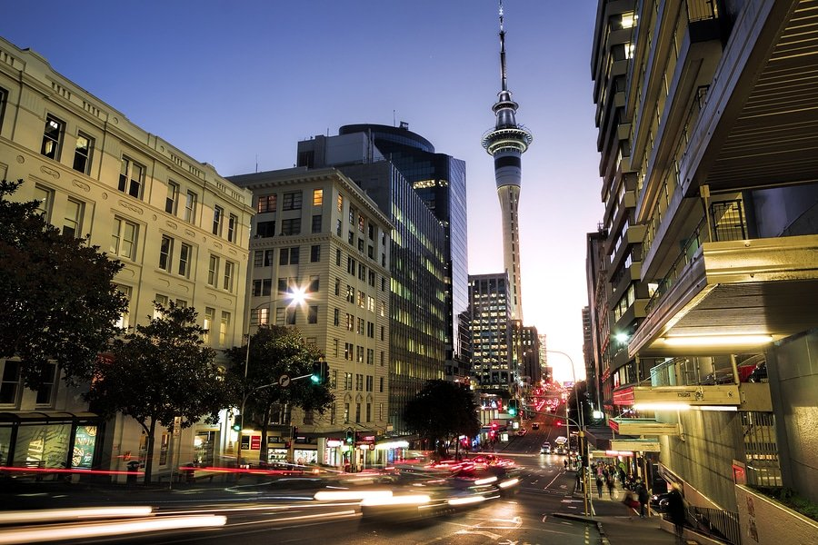 Auckland has been rated one of the world's top 10 cities to visit by travel bible Lonely Planet