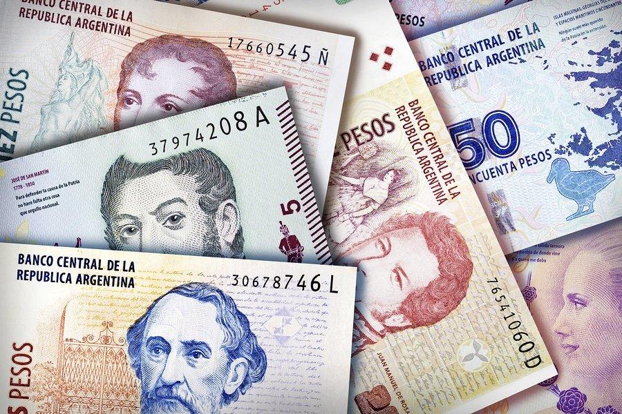 Argentinian Peso bills