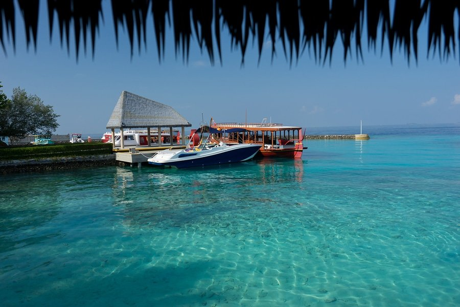 Sea and Sky, Maafushi Island Maldives