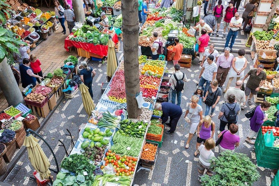 Mercado dos Lavradores (Workers Market), Funchal, Madeira, Portugal