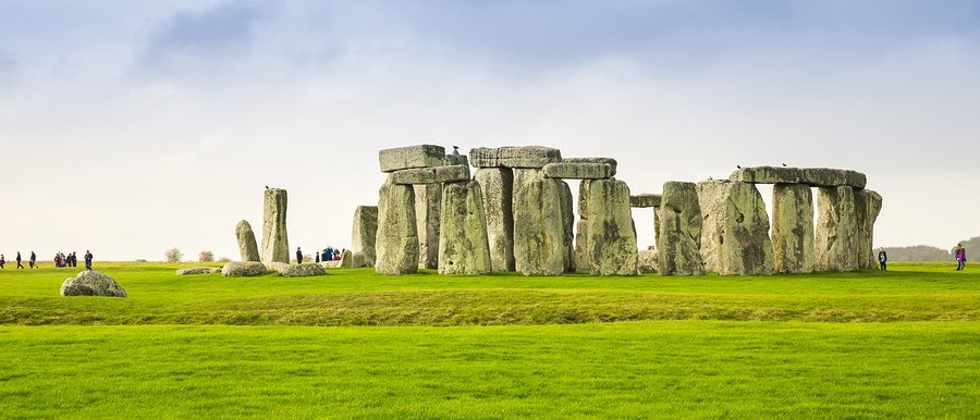 Stonehenge monument near Salisbury