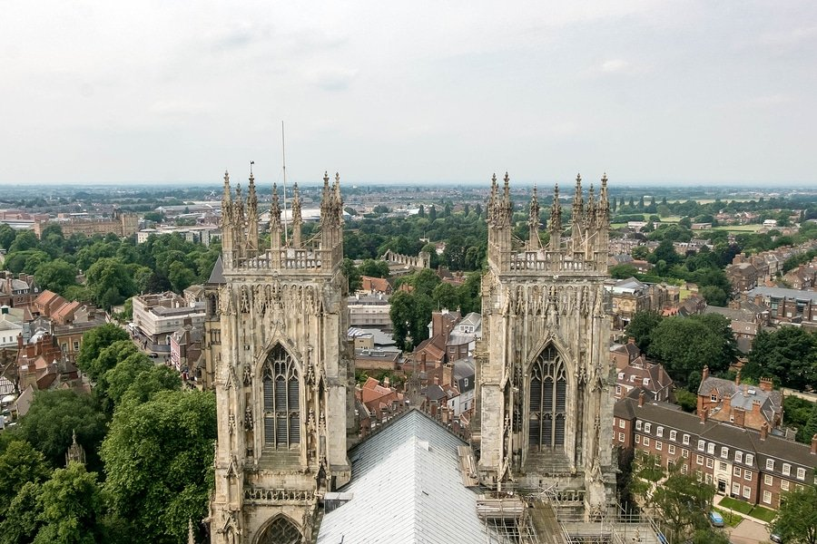 View of York, England