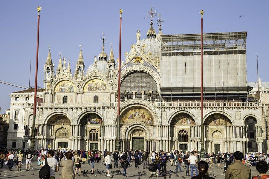 Basilica Di San Marco and San Marco Square, Venice, Italy