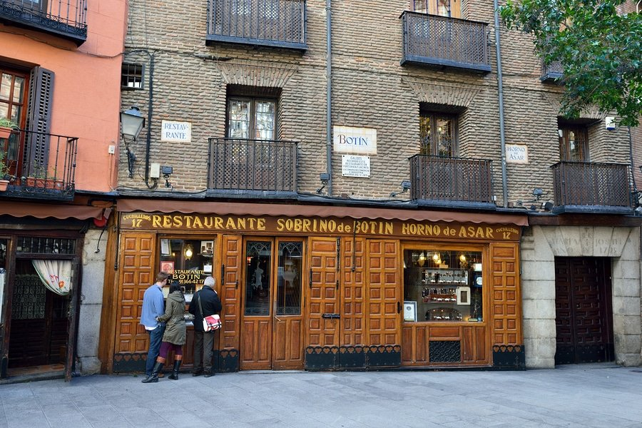 Restaurant Botin, Madrid