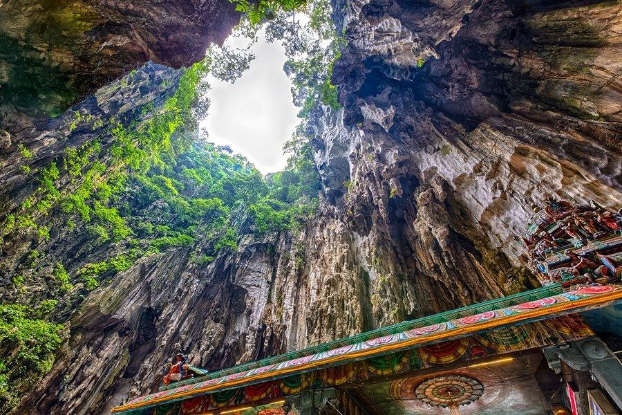 Batu Caves, near Kuala Lumpur, Malaysia