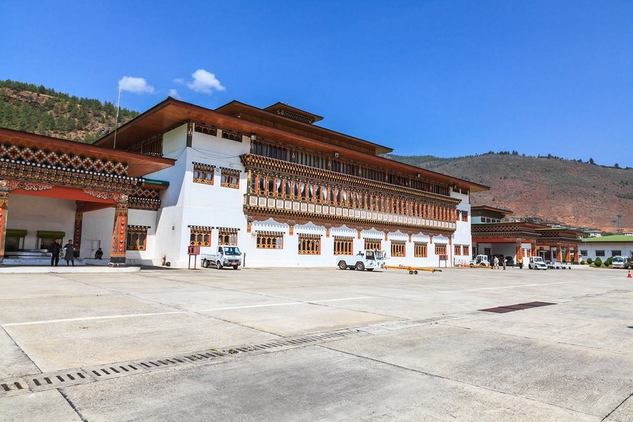 Paro Airport, Bhutan - a gateway to a fantasy world!