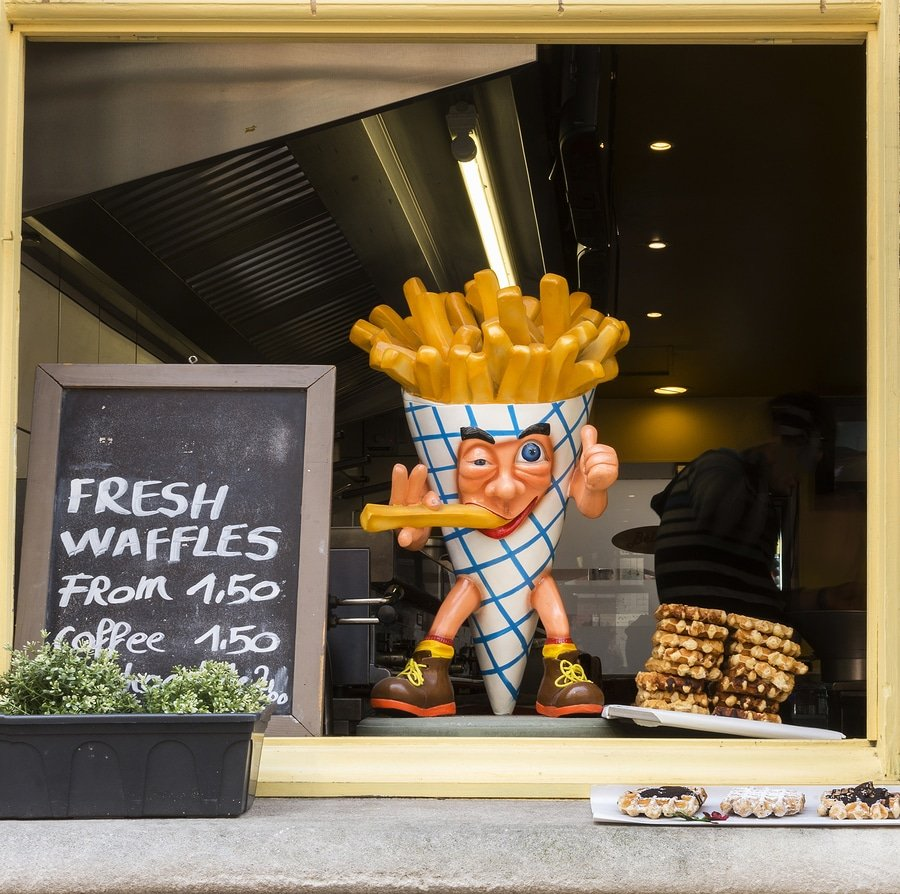 French Fries And Waffles, Bruges