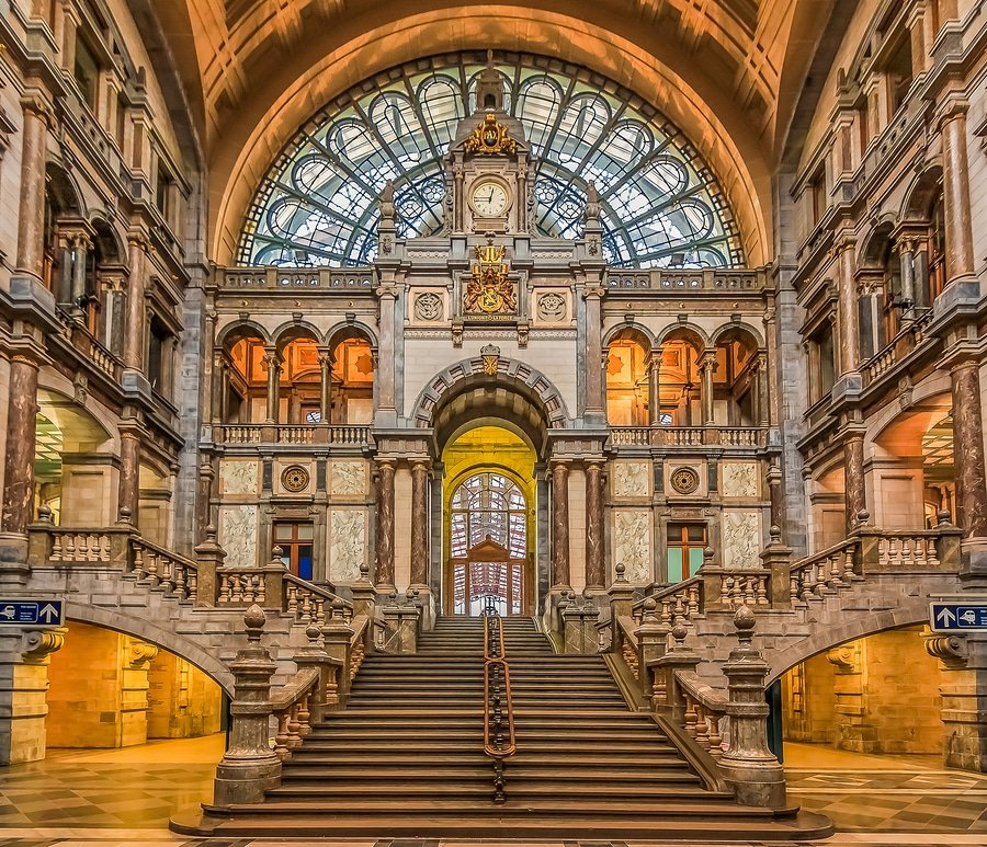 It's pretty magical, Centraal station, Antwerp