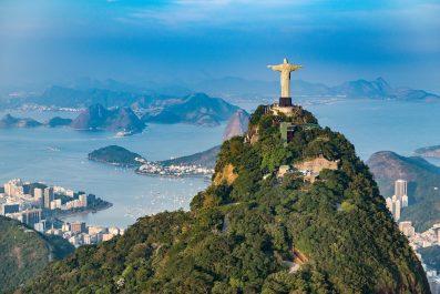 Aerial View Rio De Janeiro