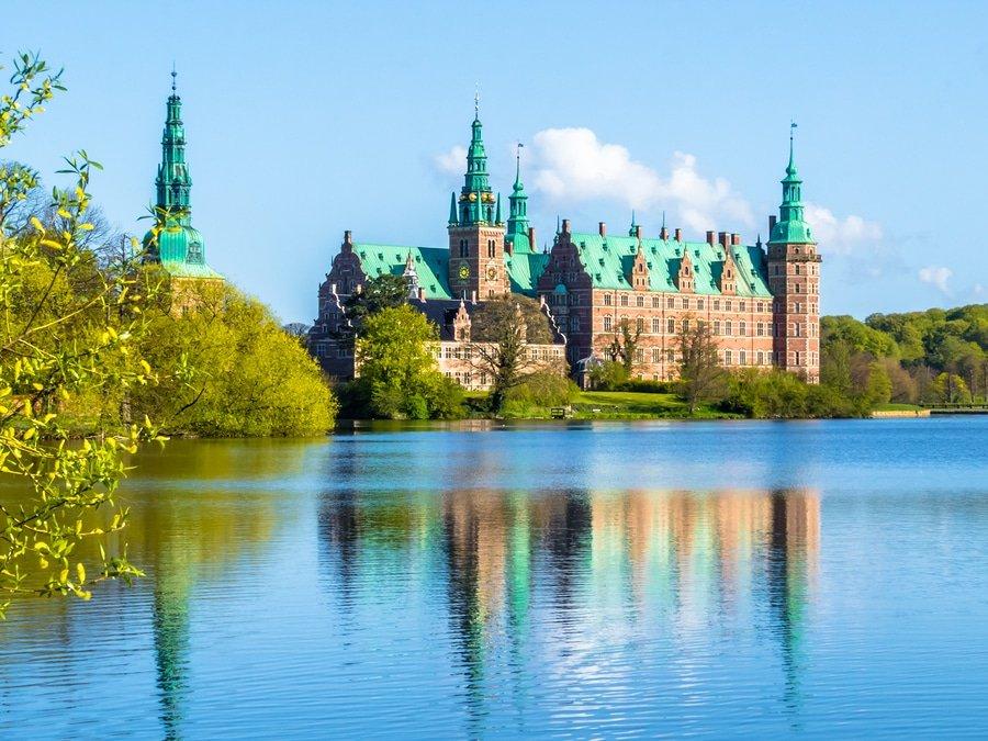 Frederiksborg Castle, Hillerod, Denmark