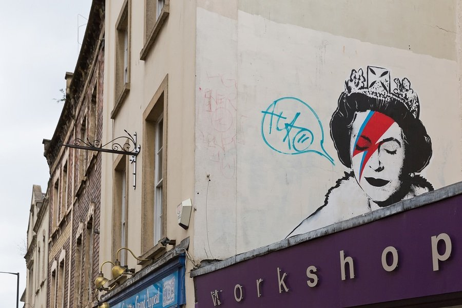 Banksy, the Royal Queen, Bristol