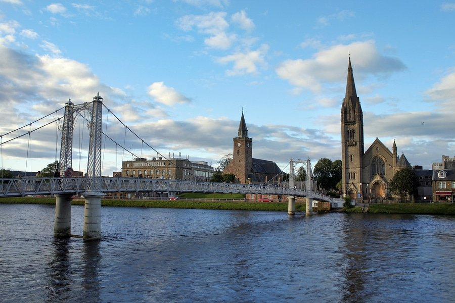 City of Inverness, Scotland