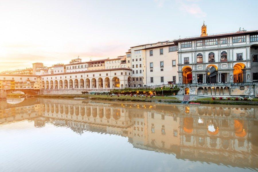 Uffizi Museum, Florence, Italy