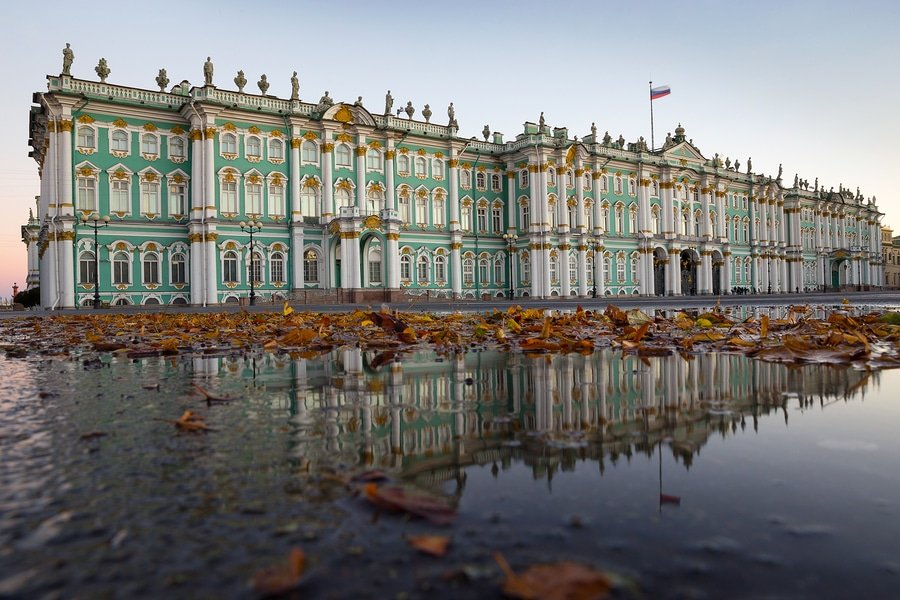 The Winter Palace, the Hermitage Museum