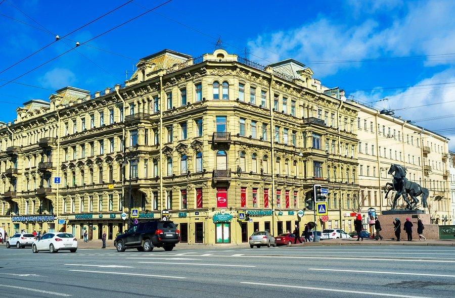 Nevsky Prospekt, Saint Petersburg, Russia