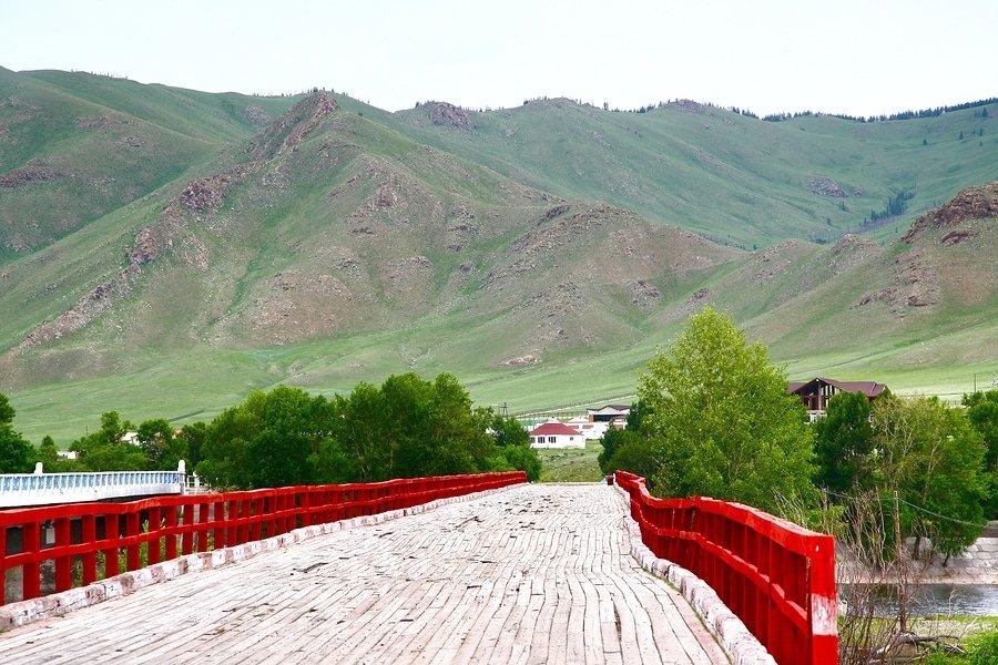 Gorkhi-Terelj National Park near Ulaanbaatar , Mongolia