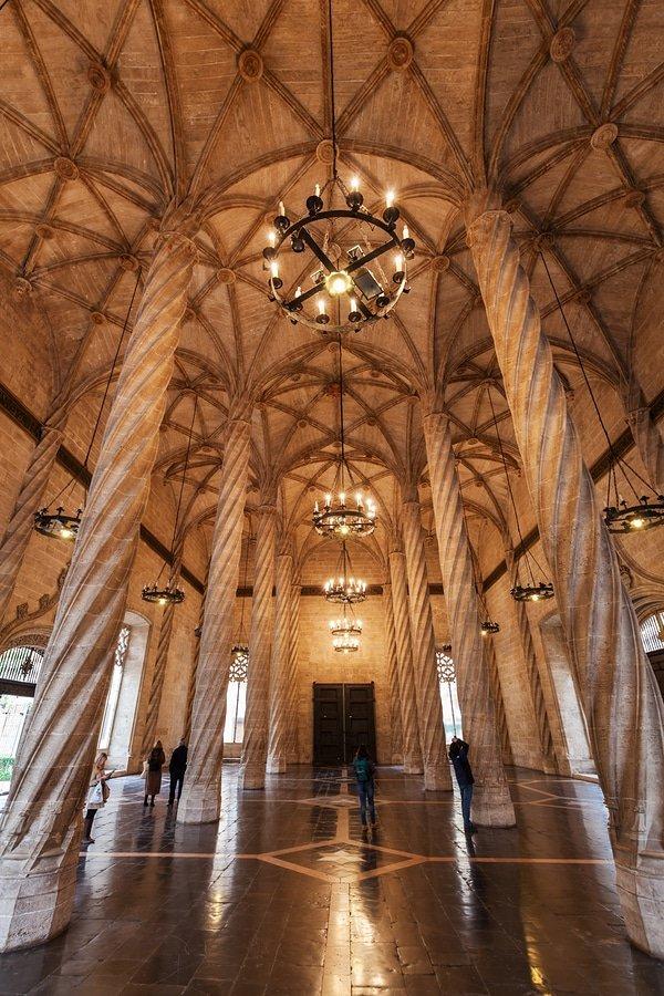 Llotja de la Seda, Valencia, Spain