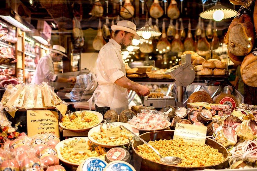Mercato delle Erbe, Bologna, Italy