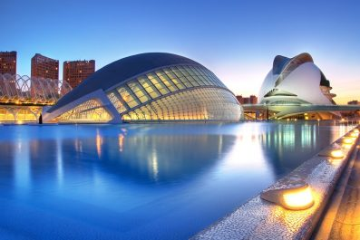 Palau de Les Arts in Valencia, Spain