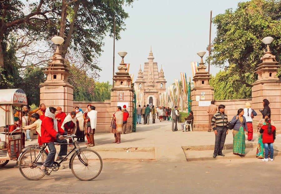 Sarnath temples, India