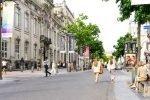 Street view in Antwerp, Belgium