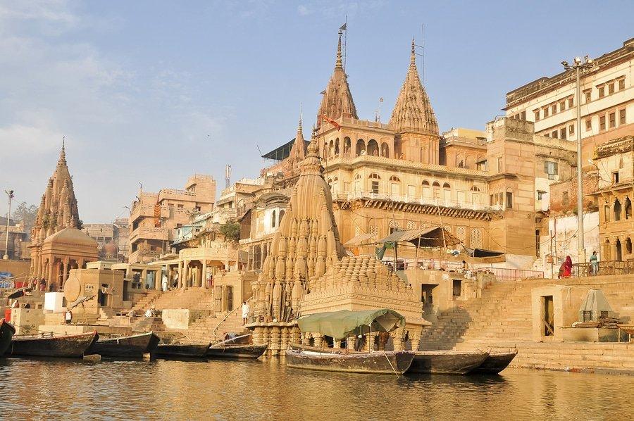 Varanasi temples, India