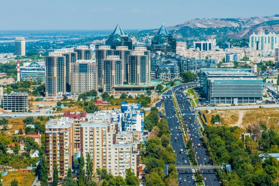 Almaty city view, Kazakhstan