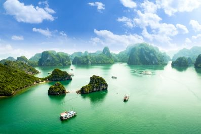 Halong Bay, Vietnam, Indochina