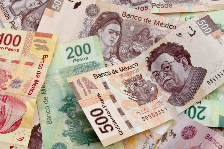 Mexican Pesos Currency Bills