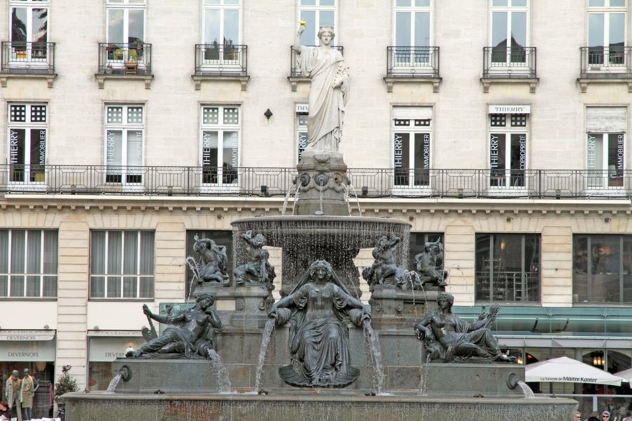 Place Royale, Nantes, France