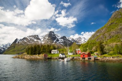 Lofoten Islands, Norway, Scandinavia