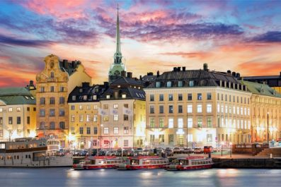 cityview of Stockholm, Sweden