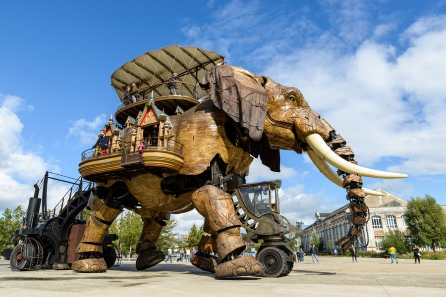 The Grand Elephant, Nantes, France