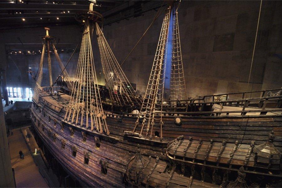 Vasa Boat, Vasa Museum, Stockholm, Sweden
