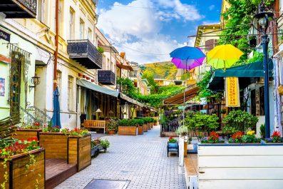 Streets of Tbilisi, Georgia - eFesenko/Shutterstock.com