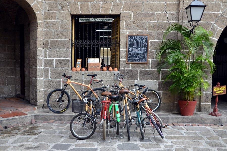 Bambike Ecotours store, Manila, Philippines