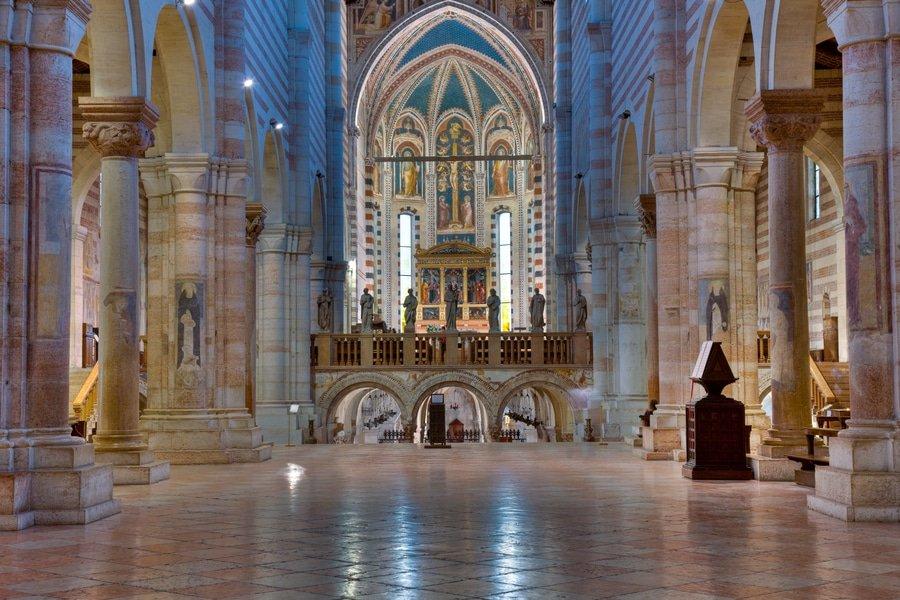 Basilica of San Zeno, Verona, Verona, Italy