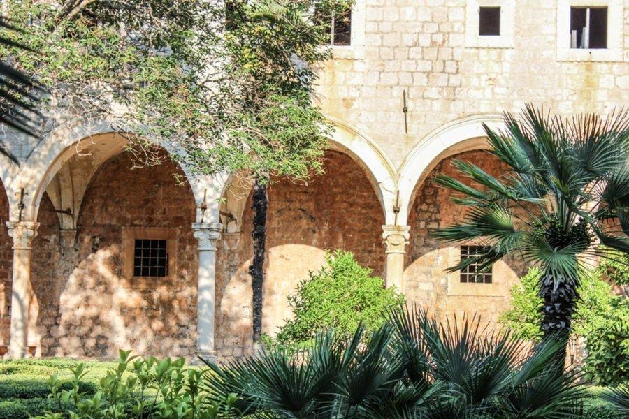 Benedictine Monastery, Lokrum Island, Dubrovnik, Croatia