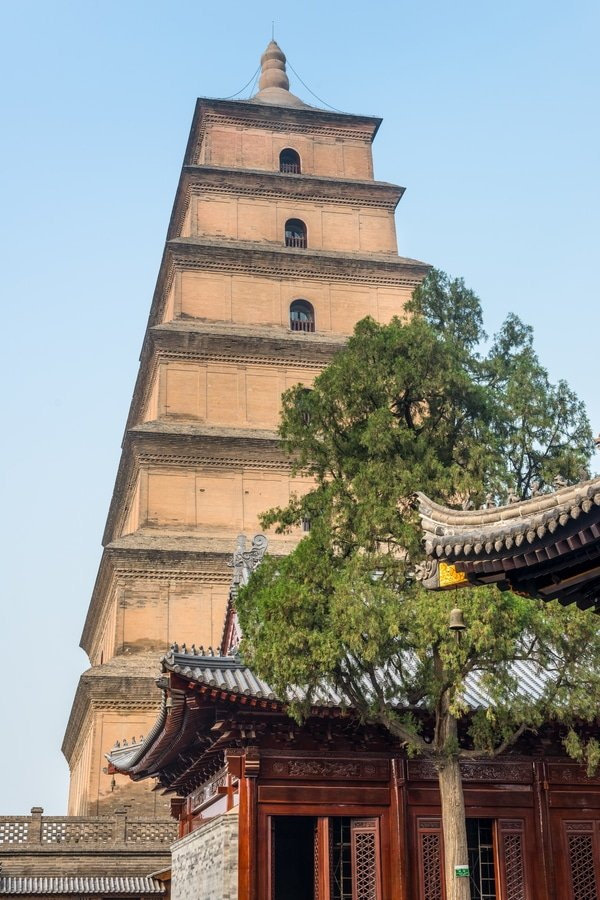 Giant Wild Goose Pagoda, Xi'an, China