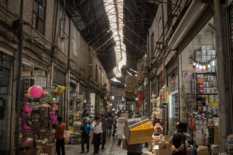 Grand Bazaar, Tehran, Iran